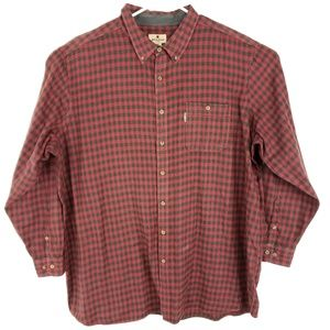 Woolrich Buffalo Plaid Flannel Button Up 4XLT